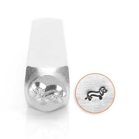 Dachshund 6mm Metal Stamping Design Punches - ImpressArt