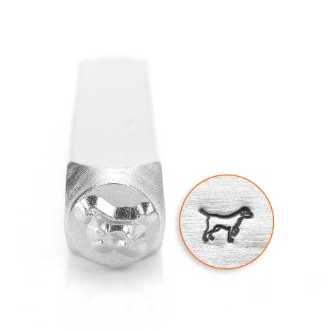 ImpressArt, Labrador Retriever 6mm 6mm Metal Stamping Design Punches