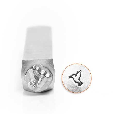 ImpressArt Humming Bird 6mm Metal Stamping Design Punches