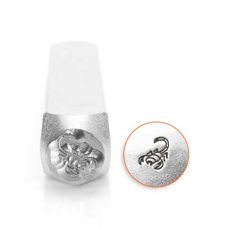 ImpressArt, Scorpion 6mm Metal Stamping Design Punches
