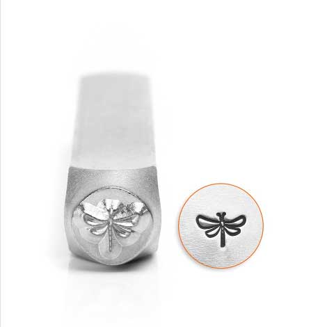 ImpressArt Dragonfly 6mm Metal Stamping Design Punches