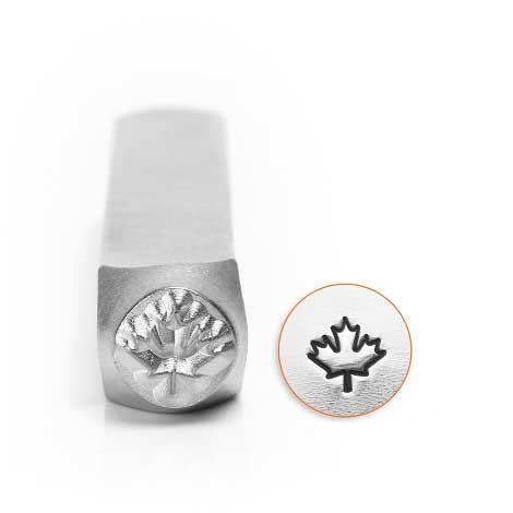 ImpressArt, Maple Leaf 6mm Metal Stamping Design Punches