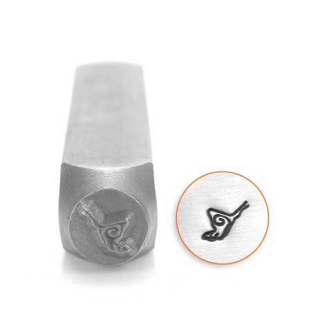 Butterfly 6mm Metal Stamping Design Punches - ImpressArt