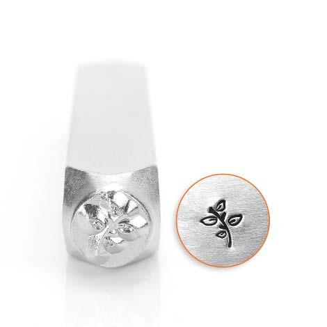 ImpressArt, Leafy Twig 6mm Metal Stamping Design Punches