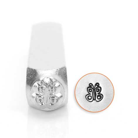 Butterfly Spread 6mm Metal Stamping Design Punches - ImpressArt