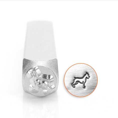 Boxer 6mm Metal Stamping Design Punches - ImpressArt
