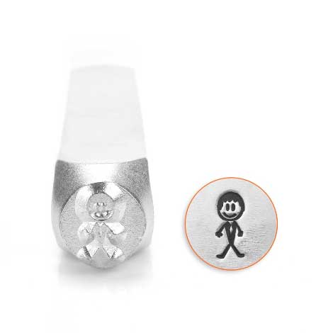 ImpressArt, Groom Stick Man 7mm Metal Stamping Design Punches