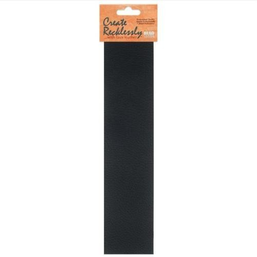 Create Recklessly, Symphony Faux Leather, 10 x 2 Inch Strip, x1pc, Black