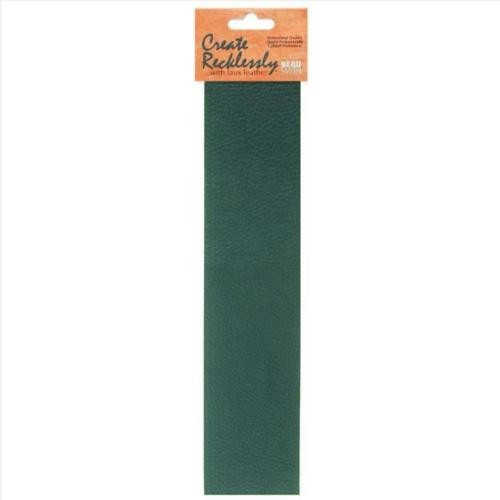 Create Recklessly, Symphony Faux Leather, 10 x 2 Inch Strip, x1pc, Orchard Green