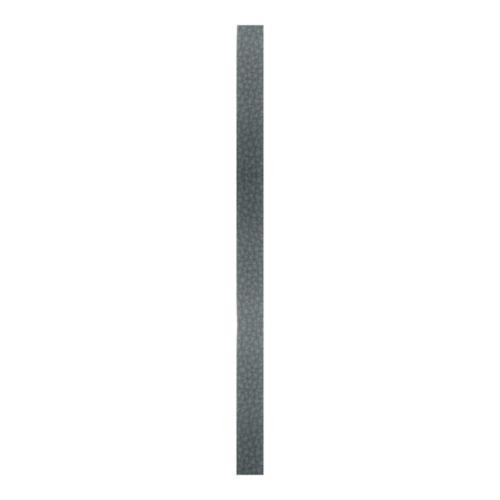 Create Recklessly, Symphony Faux Leather Strip, for Bracelets, 10mm Wide, 10 Inch, x1pc, Pewter Grey