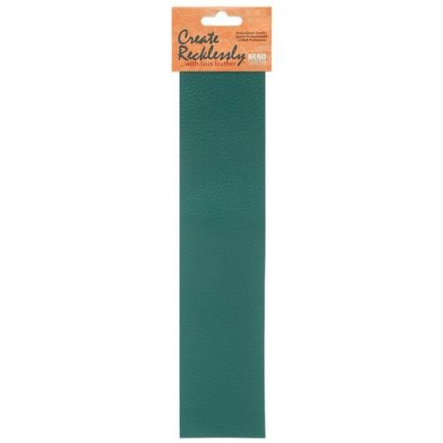 Create Recklessly, Symphony Faux Leather, 10 x 2 Inch Strip, x1pc, Bayou Teal
