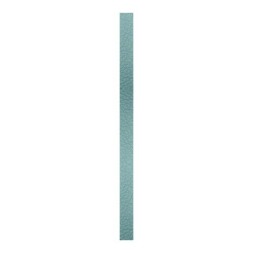 Create Recklessly, Symphony Faux Leather Strip, for Bracelets, 10mm Wide, 10 Inch, x1pc, Reef Aqua
