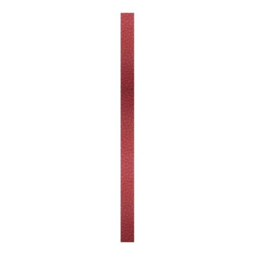 Create Recklessly, Symphony Faux Leather Strip, for Bracelets, 10mm Wide, 10 Inch, x1pc, Tandoor Red