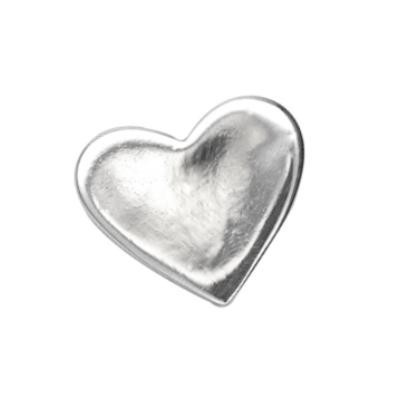 Sterling Silver Heart 22x19mm 20g Stamping Blank x1