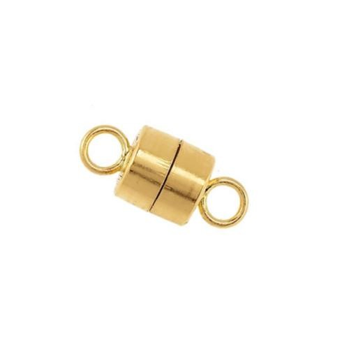 14kt Gold (Solid) 4.5x10mm Magnetic Clasp x1