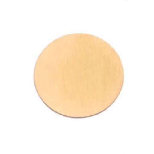 Rose Gold Stainless Steel 316L Circle 22mm Stamping Blank Plate fits 30mm Floating Lockets x1