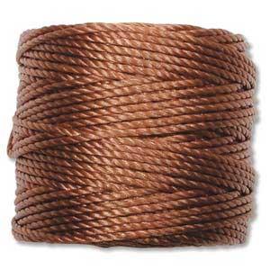 S-Lon, Super Lon Heavy Macrame Cord Tex400 Copper