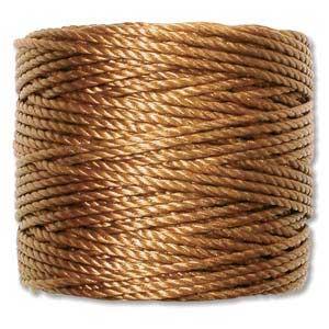 S-Lon, Super Lon Heavy Macrame Cord Tex400 Gold