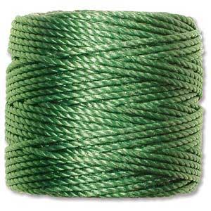 S-Lon, Super Lon Heavy Macrame Cord Tex400 Green
