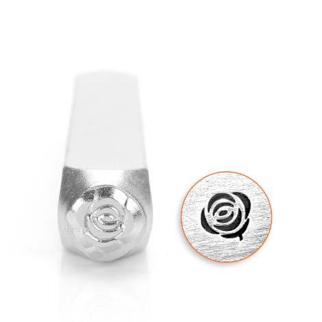 ImpressArt, Rose 6mm Metal Stamping Design Punches