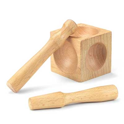 Wooden Doming Block and Two Punches ~ ImpressArt