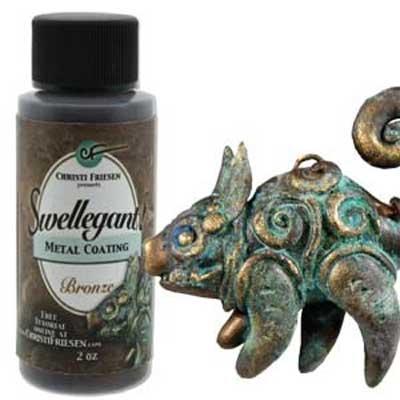 Swellegant Metal Coatings - Bronze 2oz Bottle