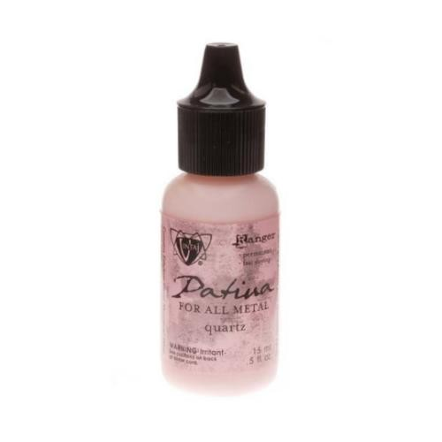 Vintaj Single Patina, Quartz by Ranger 0.5oz Bottle