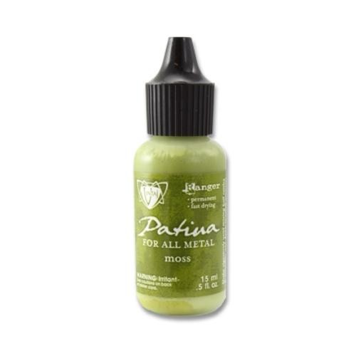 Vintaj Single Patina, Moss by Ranger 0.5oz Bottle