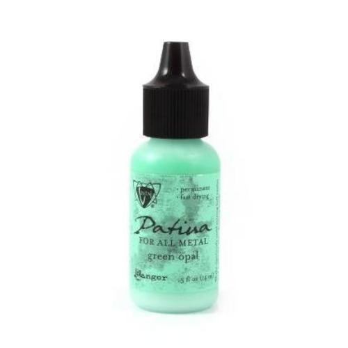 Vintaj Single Patina, Green Opal by Ranger 0.5oz Bottle