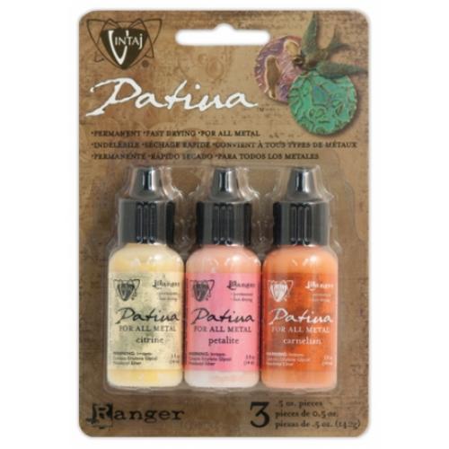 Vintaj Patina Kit Pack, Sunset in Morocco by Ranger x3 0.5oz Bottle Pack