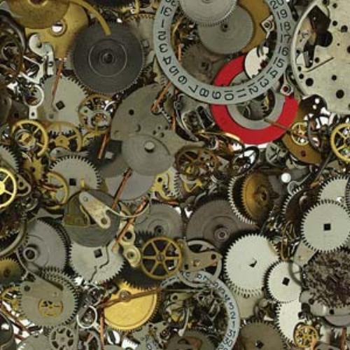 Steampunk - Watch Part Components, Cogs, Wheels - 50 gram box