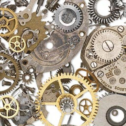 Steampunk - Watch Part Components, Cogs, Wheels - 5 grams