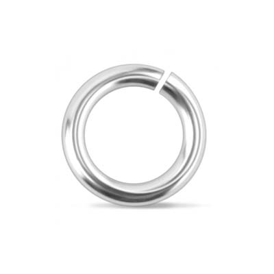 "DEADSTOCKED Aluminium Jump Rings (1/4"")  9.7mm (6.6mm id) 16g approx 50 Pack (Supplier out of stock)"