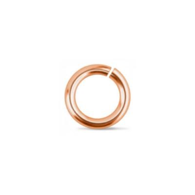 DEADSTOCKED Copper Jump Rings ~ 6mm (4mm id) 19g approx 50 Pack (IA)
