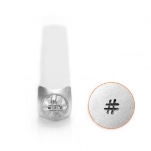 ImpressArt, Hashtag # 3mm Metal Stamping Design Punches