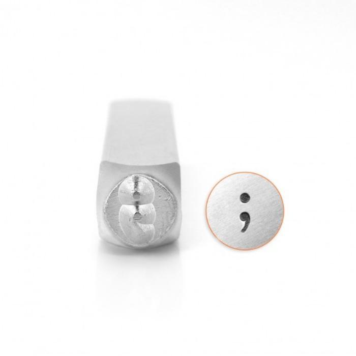 ImpressArt Semicolon ; 6mm Metal Stamping Design Punches