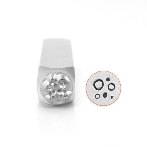 *PRE-ORDER, Special Order* ImpressArt Circle & Dot Texture 6mm Metal Stamping Design Punches