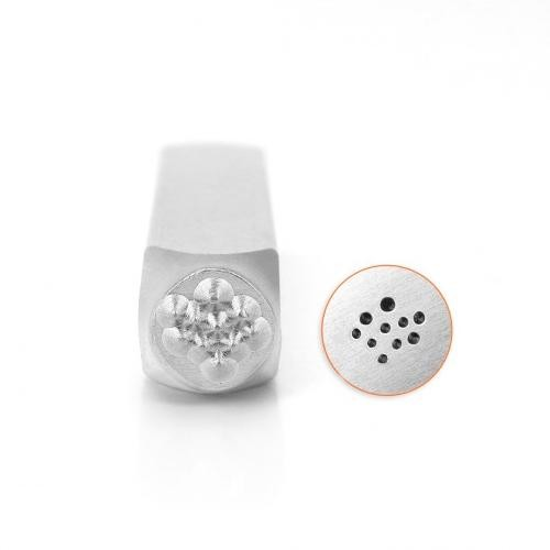 *PRE-ORDER, Special Order* ImpressArt Solid Dot Texture 6mm Metal Stamping Design Punches