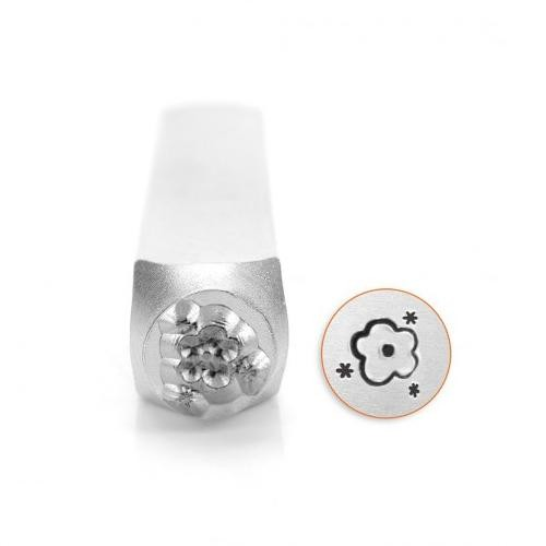 ImpressArt, Flower Texture 6mm Metal Stamping Design Punches