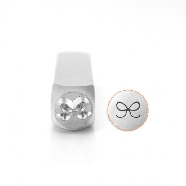 *PRE-ORDER, Special Order* ImpressArt, Bow 6mm Metal Stamping Design Punches