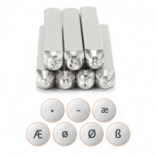 ImpressArt European Collection 6mm Metal Stamping Design Punches (7pc)