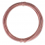 Aluminium Wire 12 gauge (2mm) x39ft (12m) Rose Gold