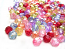 Acrylic Transparent 5mm Round Beads 15g (x225pc) Soup Mix