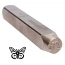 Stamping Tool Design - Butterfly 6mm Pattern Punch Steel Stamp