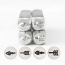 ImpressArt Arrow Collection 6mm Metal Stamping Design Punches (4-pc) Feather end, Arrow, Stick end, Dble Arrow