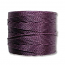 S-Lon, Superlon Tex 210, 0.5mm Bead Cord Medium Purple