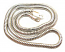Sterling Silver Necklace 3mm Round Snake Chain 16 inch - 40.5cm