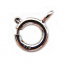 Sterling Silver Clasps - Spring Ring 7mm Clasp x1