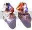 Czech Glass Baby Bell Flower Beads 6x4mm Autumn Amethyst Lustre x50