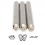 Whimsy Trio (3-piece Set) Metal Stamping Design Punches - Beadsmith
